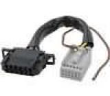 Kabel pro měnič CD Quadlock 12pin, VW, Audi 12 pinů Audi, VW