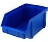 Zásobník dílenský modrá polypropylén 314x202x148mm