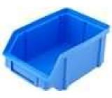 Zásobník dílenský modrá polypropylén 119x77x56mm