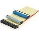 Kabel IDC 40pin 3x vidlice 0,6m 80žil