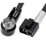 Anténní adaptér ISO úhlový Volvo S80, Volvo V40, Volvo V70