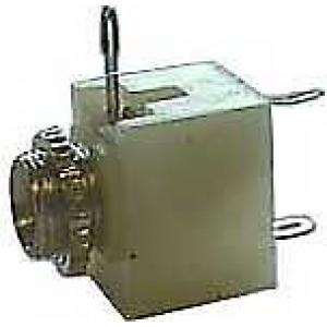 JACK zdířka 2,5 mono panelová s vypínačem