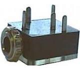 JACK zdířka 3,5 stereo panel 2x vypínač do pl.spoj