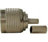 N konektor na koax 5mm crimpovací (RG58)