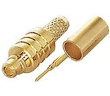 MMCX konektor přímý lisovací na koax 3mm (RG174)