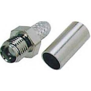 SMA zdířka na koax 5mm(RG58/U) lisovací DOPRODEJ
