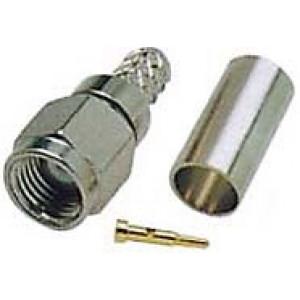 SMA konektor na kabel 3mm(RG174,188,316/U) lisovací DOPRODEJ
