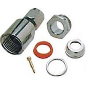 SMA konektor na kabel 3mm(RG174,188,316/U) šroub. DOPRODEJ