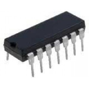 4047 monostabilní/astabilní multivibrator, DIL14
