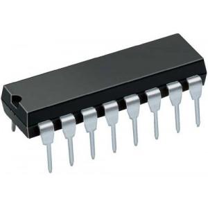 74174 6x klopný obvod D s nulováním, DIL16