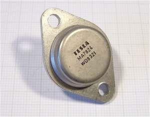 7824 stabilizátor +24V/1,5A TO3 kov TESLA