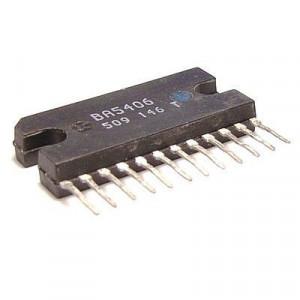 BA5406 nf zesilovač 2x5W, SIL12