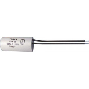 Odrušovací filtr TSK25 250n 250VAC 18x38mm