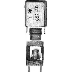 Cívka vf 10x10x18mm trn 5x18mm,ferit N05+kroužek D