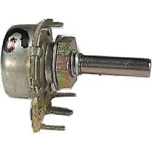 Poten.otočný ruský 10k/G průměr 16mm,hřídel 4x15mm