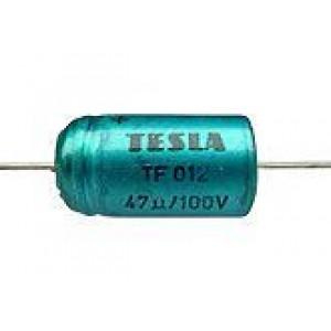 47uF/100V TF012-elektrolyt.kond.axiální