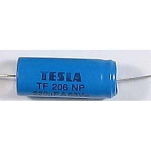 220u/63VDC TF206, elektrolyt bipolární 40x17mm