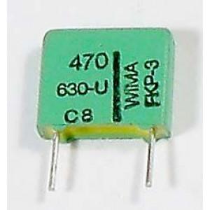 470pF/630V kondenzátor svitkový WIMA