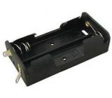 Držák baterie 2xR6/AA/UM3 s pájecími očky