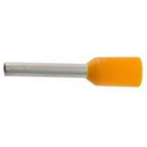 Dutinka pro kabel 0,5mm2 oranžová (E0508)