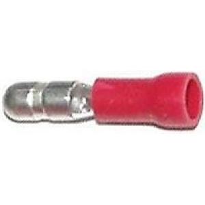 Konektor KOLĺK 4mm červený kabel 0,5-1,5mm2