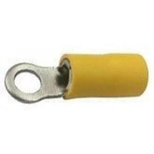 Oko kabelové 4,3mm žluté (RVS 5,5-4)