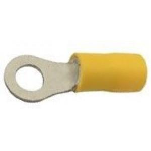 Oko kabelové 5,3mm žluté (RV 5,5-5)