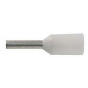 Dutinka pro kabel 0,75mm2 bílá (E7508)
