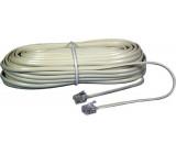 Telefonní šňůra 15m (6P4C)
