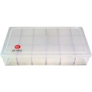 Krabička na součástky 215x120x35mm 18sekcí