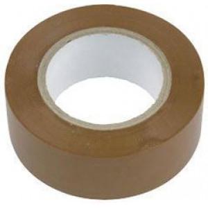 Izolační páska 0,13x19mmx10m hnědá