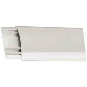 Přechodová lišta pro kabely bílá, š=40mm, v=9,5mm