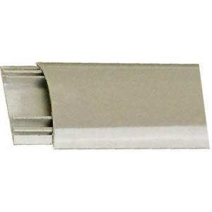 Přechodová lišta pro kabely šedá, š=40mm, v=9,5mm
