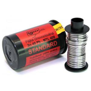 Pájka trubičková 1,5mm 50g 40%Sn 60%Pb+tavidlo MTL