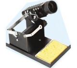 Stojánek na mikropájku s držákem na cívku s cínem