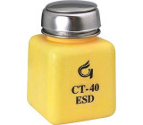 Lahvička na chemikálie 125ml s pumpičkou antistatická