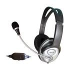 Sluchátka s elektr.mikrofonem FE-605 DOPRODEJ