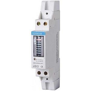 Elektroměr 1 fázový analogový na DIN lištu