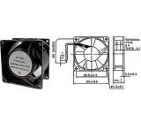 Ventilátor 92x92x25mm 230V/0,08A 2250 ot/min