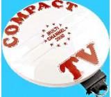 Aktivní anténa COMPACT-TV +zdroj disk