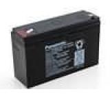 Olověný akumulátor 6V 12Ah 151x50x94mm Panasonic