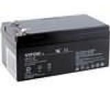 Olověný akumulátor 12V 3,3Ah 134x67x59mm VIPOW
