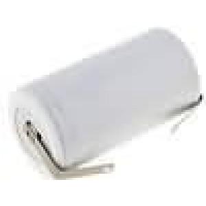 Akumulátor Ni-Cd 1,2V 4000mAh R20 (D), páskové vývody