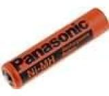 Akumulátor Ni-MH 1,2V 750mAh R03 (AAA) Panasonic