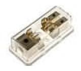 AGU fuse distribuční blok in1x20mm2/out2x10mm2-zlatý