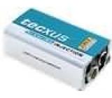 Alkalická baterie 9V 6F22 Tecxus