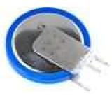 CR2430 Lithiový knoflíkový článek 3V 280mAh fi 24,5x3mm,3 vývody