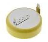 Lithiový knoflíkový článek 3V 1000mAh fi 24, 5x7, 7mm, 2 vývody
