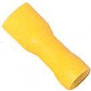 Objímka plochá izolovaná 6,3 mm  , 100 ks