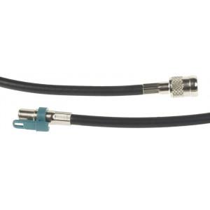 Anténní adaptér FAKRA do rádia samice/ISOsamice, 23 cm